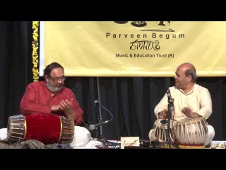 Ravindra Yavagal (Tabla) Anoor Anantha Krishna Sharma (Mridangam) Jugalbandi