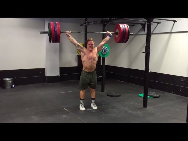 Noah Ohlsens 380-lb. Snatch Balance PR