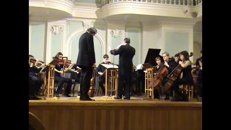 D. Shostakovich - Concerto op.107-a II-III-IV Yuri Tkanov (viola), Vladimir Rujaev 13.02.2008 » Freewka.com - Смотреть онлайн в хорощем качестве