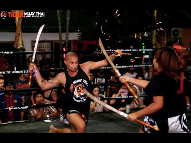 Thailand's Ancient Weapon Fighting Art: Krabi-Krabong