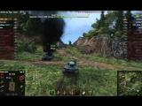 World Of Tanks Самурай Голдострел 7к Урона 9 Фрагов на Type 61