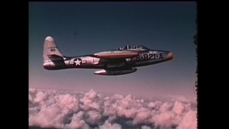 Полет сквозь время / DC Wings - Flying Through Time (2004) | 24. F-84 «Тандерджет» / F-84 Thunderjet