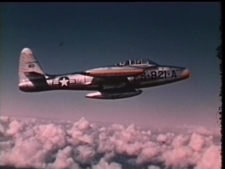Полет сквозь время / DC Wings - Flying Through Time (2004) | 24. F-84 «Тандерджет» / F-84 Thunderjet