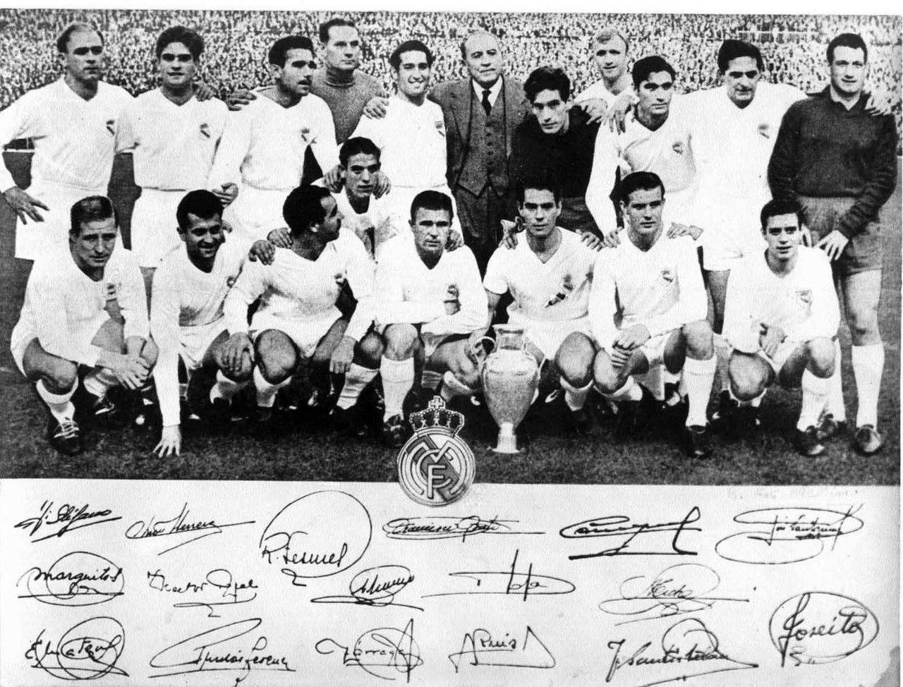 Реал Мадрид - обладатель Кубка чемпионов сезона 1957/1958 годов