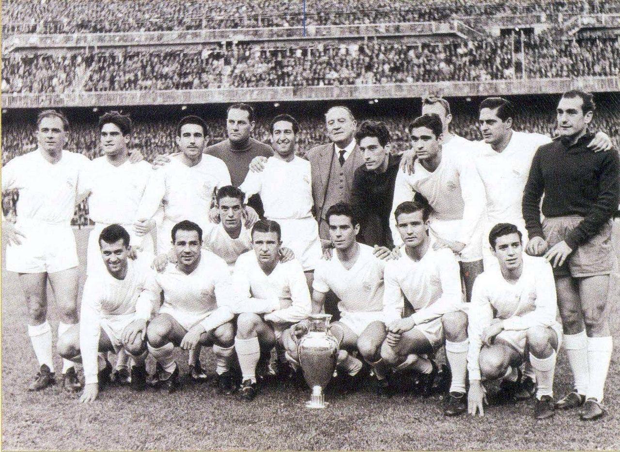 Реал Мадрид - обладатель Кубка чемпионов сезона 1958/1959 годов