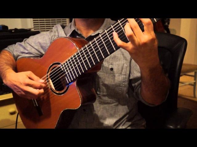Javier Reyes, Ortega Guitars JRSM-RWC Demo