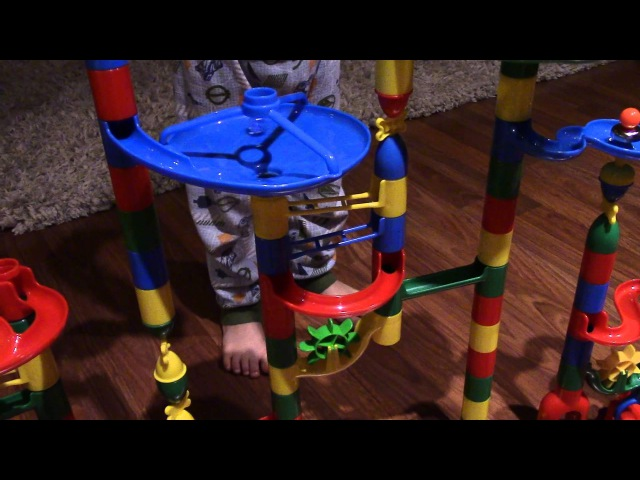 Marbulous Toy Review 121 Piece Marble Run