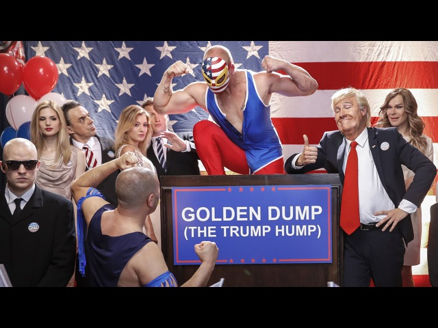 Donald Trump ft. Melania Trump - Golden Dump (The Trump Hump)/TheMockingbirdMan by Klemen Slakonja/