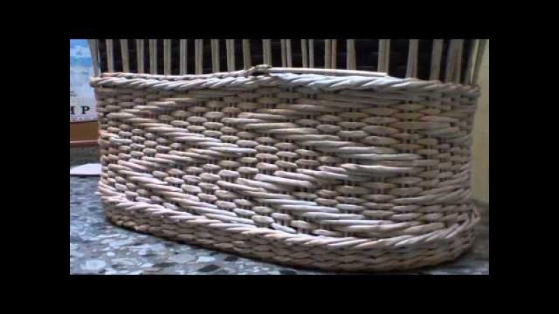 ▬► Объемный узор Зигзаг на основе ситцевого плетения. Часть 2.