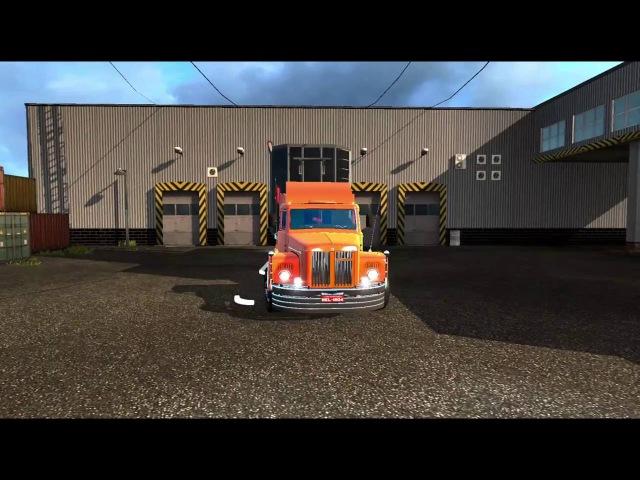 Euro Truck Simulator 2 - Scania 111S (Jacaré) [Arapongas para Campo Mourão - MAPA EAA 4.0]