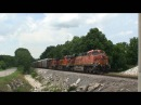 Mixed Freight Led by BNSF 6026 at Hwy 125!