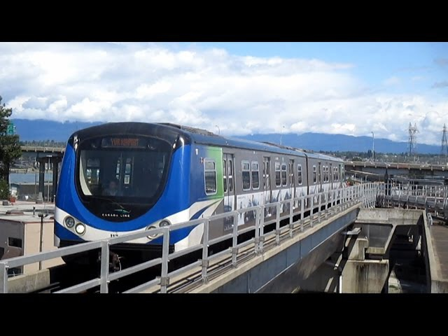 TransLink Canada Line Skytrain - Bridgeport to YVR Airport
