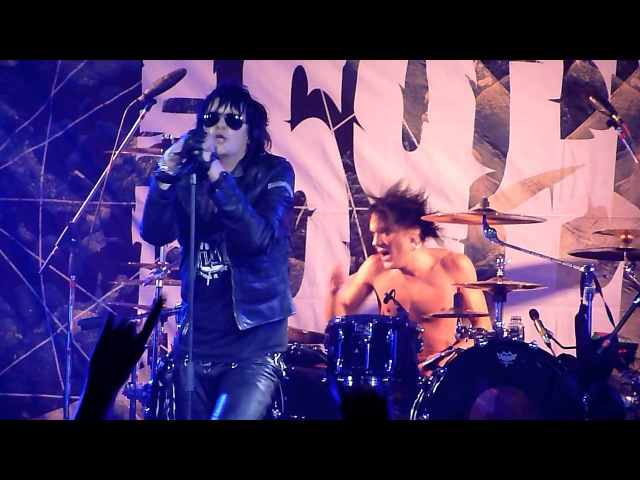 The 69 Eyes - Red / Feel Berlin / Devils (Live - Milk Moscow, Moscow, Russia, 02.03.2013)