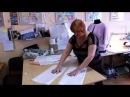 Выкройка юбки своими руками методом макетирования Как сшить юбку Мастер класс п
