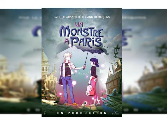 AD^ Miraculous LadyBug Трейлер Монстр в Париже Пародия
