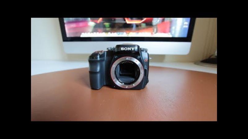 Sony Alpha A100 Revisión en profundidad