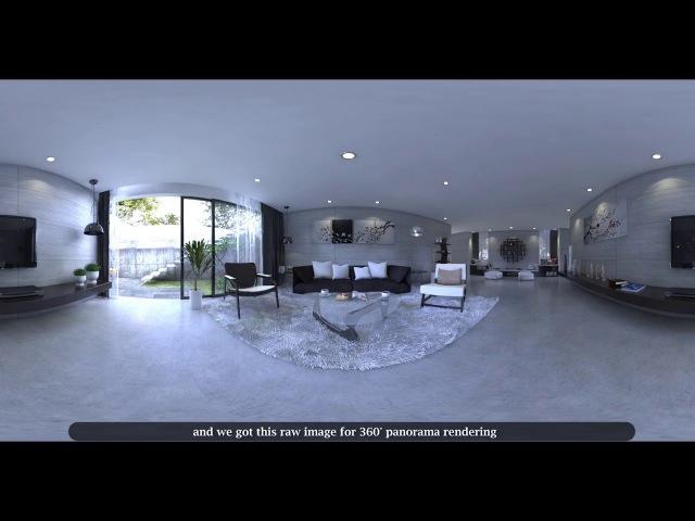 360 Render Setting in Vray Sketchup _ 360 Panorama Rendering Tutorial _ Part 1