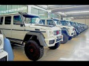 15 New Brabus 700 Mercedes-Benz G63 AMG 6×6 690 Horsepower in Malaysia