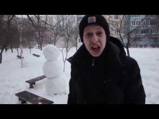 Как отпиздить снеговика прикол-