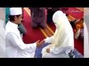 Первое прикосновение после бракосочетания (никяха)