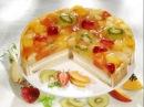 Вкусный Фруктовый Торт без Выпечки ! Простой Рецепт из Печенья с Фруктами