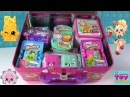 Shopkins Surprise Lunchbox Twozies Grossery Gang Blind Bag Opening Toy Review | PSToyReviews