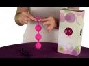 Анальные шарики с вибрацией перезаряжаемые Lust By Jopen L9 Pink