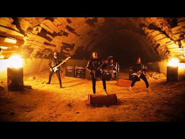 AMKEN - Soul's Crypt (OFFICIAL VIDEO)   Thrash Metal (2016)