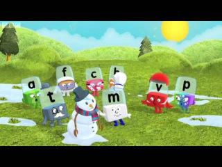 Alphablocks Series 3 - Snowman