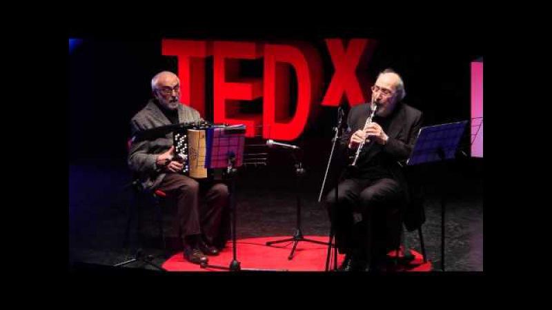 Performance: Gianluigi Trovesi Gianni Coscia at TEDxBergamo