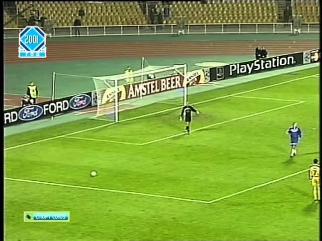 Динамо Киев 4 0 Андерлехт Брюссель ЛЧ 2000 01 полный матч