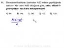 5-Yüzde-Faiz Problemleri (Matematik Soru Çözümleri) (KPSS - YGS - LYS)