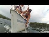 На яхте по тургояку
