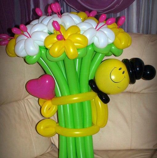 Подарки из воздушных шаров своими руками на день рождения