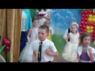 танец:Не детское время))Выпускной в саду №16
