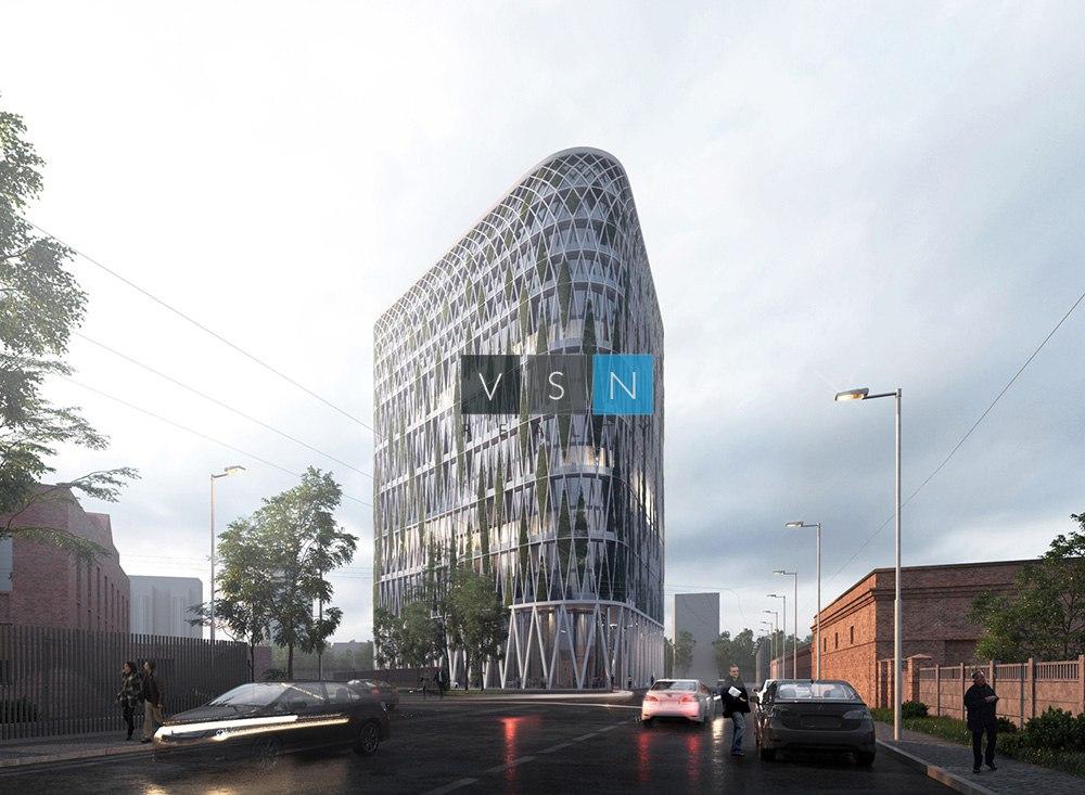 Виноградная башня: в Москве построят здание с вертикальным озеленением