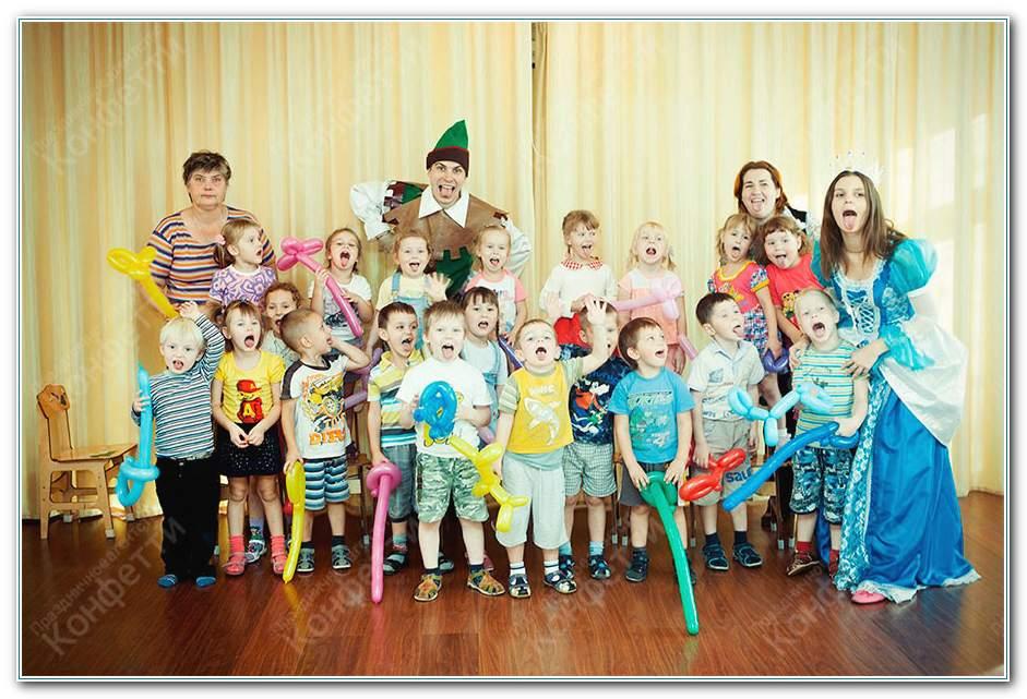 Шоу для детей на день рождения лены