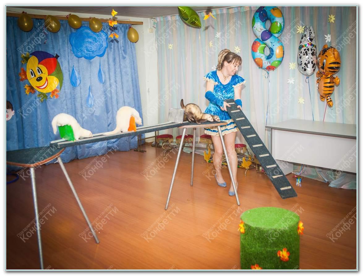 Заказать анаматоров ребенку Сосновая улица детский праздник в европе сити молл