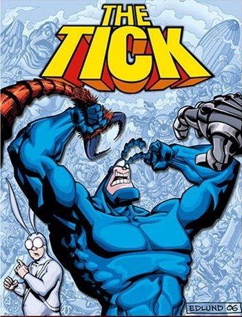 Тик-герой 1-3 сезон 1-10 серия Дубляж | The Tick