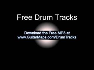 Drum Track 120 BPM Bass Guitar Backing Jam Beat Free MP3 Download Drum Loop #41