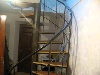 Как сделать винтовую лестницу своими руками в домашних условиях
