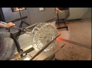 Glass Blowing Jason Ruff Decanter series