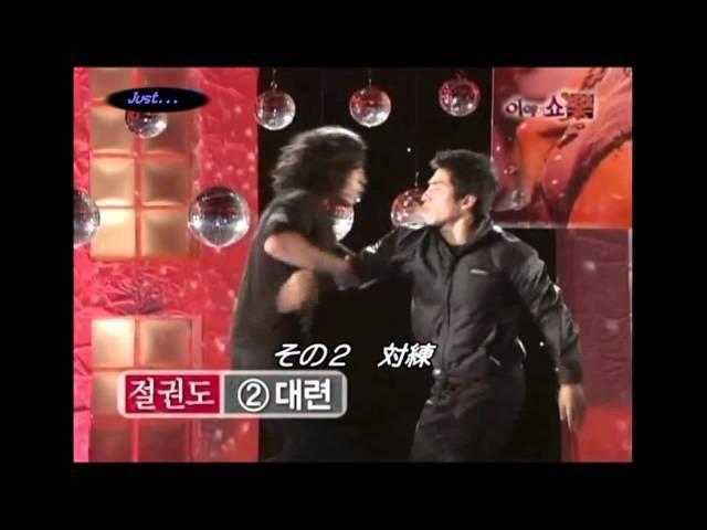 字幕☆Jang Hyuk -Story Show楽-20100105 ③of3[JKD]截拳道