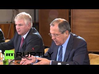 Сербия: Лавров благодаря Президент Николич солидарности над сбит Су-24.