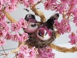 Сакура из бисера  Sakura beaded