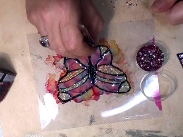 Acetate Butterfly Tutorial - jennings644