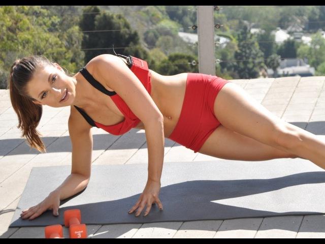 Тренировка всего тела с гантелями. Full Body Workout with Weights - Dumbbell Workout
