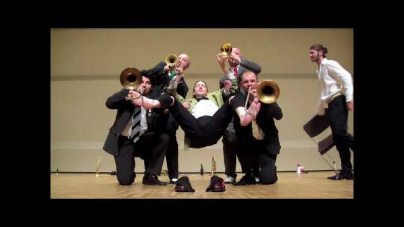Mnozil Brass on Tour in Japan 2009 Part 4
