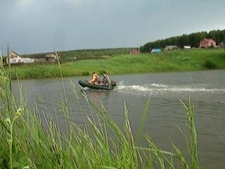 Апробация лодки Фрегат с мотором Москва-м