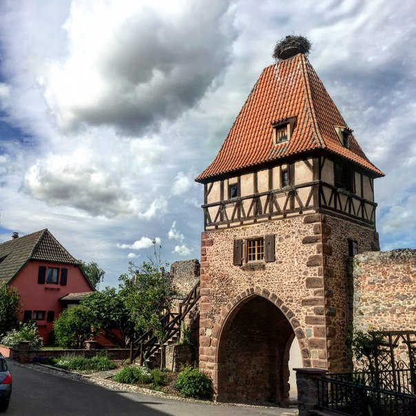 Chatenois (Шатенуа), Эльзас, Франция - достопримечательности, путеводитель по городу. Что посмотреть в Шатенуа, как добраться, расписание транспорта, фото